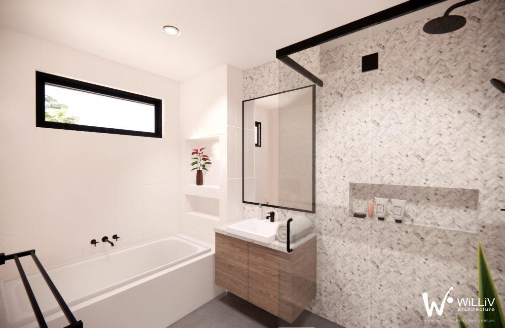 North Melbourne - FF Bathroom